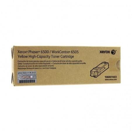 Tóner Xerox 106R01603 Amarillo
