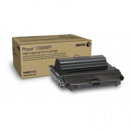 Tóner Xerox 106R01412 Negro