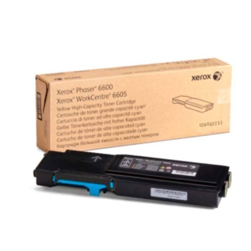 Tóner Xerox 106R02233 Cyan