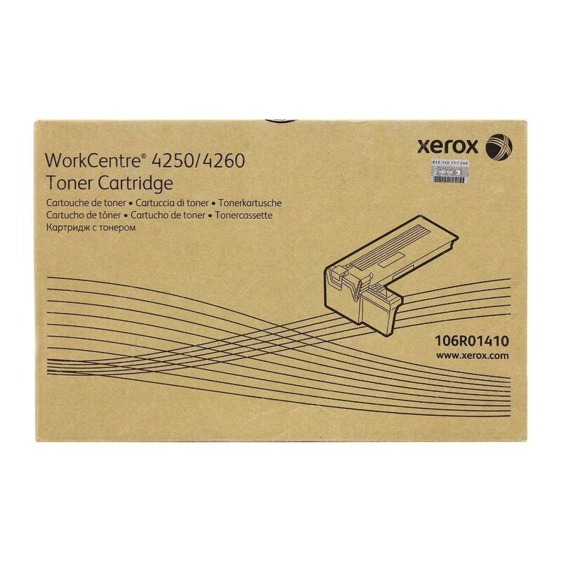 Tóner Xerox 106R01410 Negro