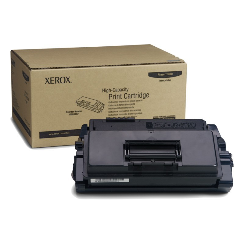 Tóner Xerox 106R01371 Negro